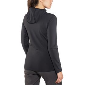 Arc'teryx Rho LT Hooded Zip Neck Women Black